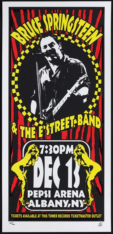 Scott Benge (FGX) Bruce Springsteen Poster