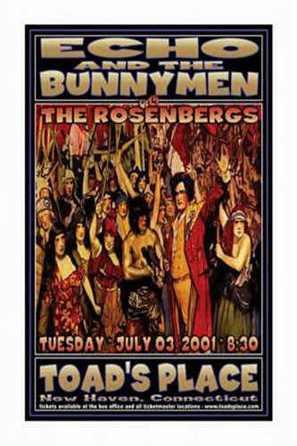 Scott Benge (FGX) Echo And The Bunnymen Poster