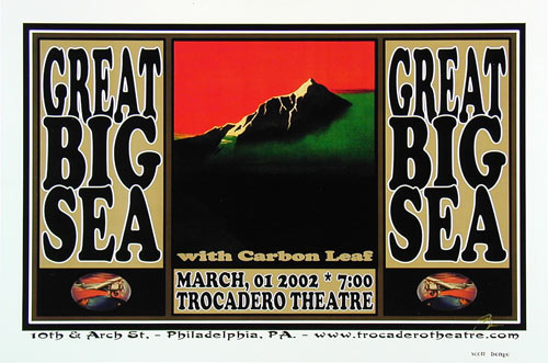 Scott Benge (FGX) Great Big Sea Poster