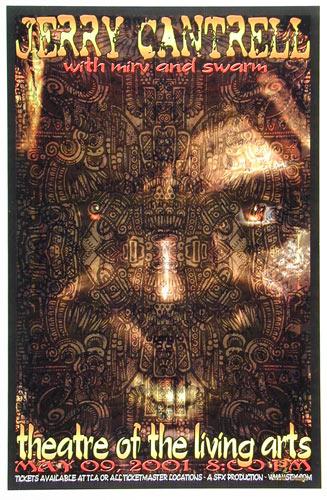 Scott Benge (FGX) Jerry Cantrell Poster