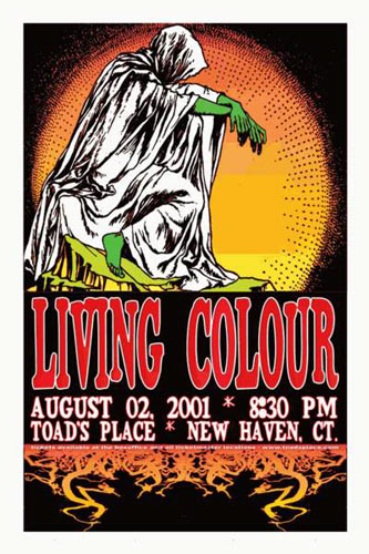 Scott Benge (FGX) Living Colour Poster
