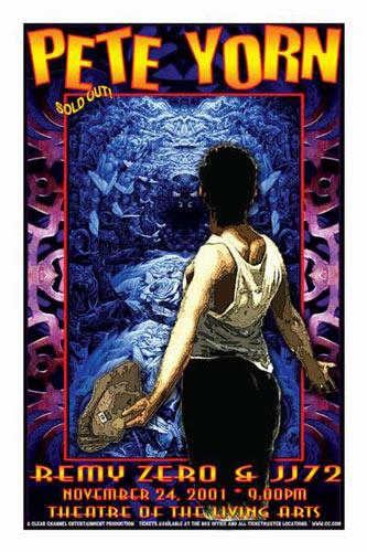 Scott Benge (FGX) Pete Yorn Poster