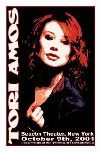 Scott Benge (FGX) Tori Amos Poster