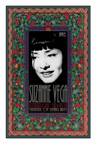 Scott Benge (FGX) Suzanne Vega Poster