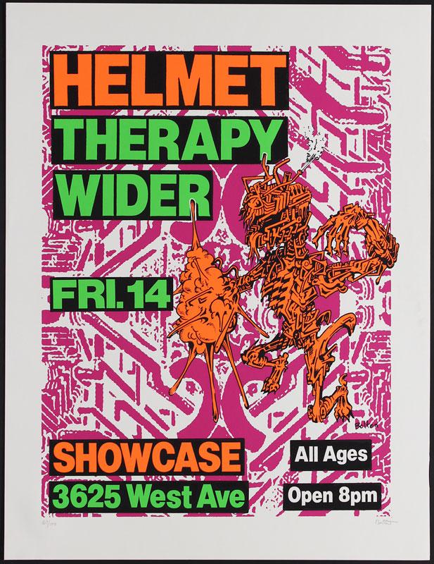Lee Bolton Helmet Poster