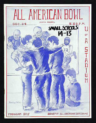 1962 All American Bowl College Football Program