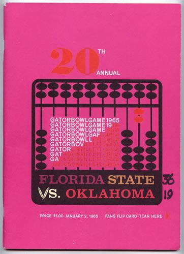 Gator Bowl 20 Florida State vs Oklahoma College Football Program