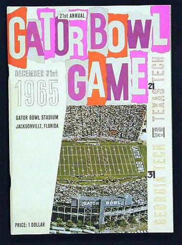Gator Bowl 21 Georgia Tech vs Texas Tech College Football Program