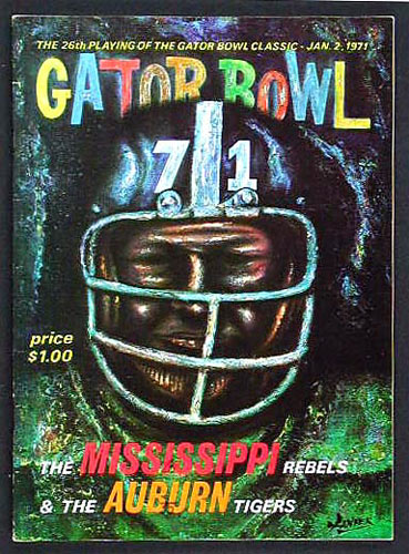 Gator Bowl 26 Mississippi vs Auburn College Football Program