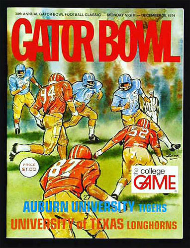 Gator Bowl 30 Auburn vs Texas College Football Program