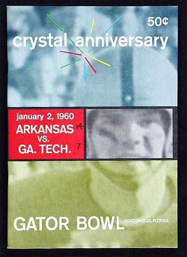 Gator Bowl 15 Arkansas vs Georgia Tech College Football Program