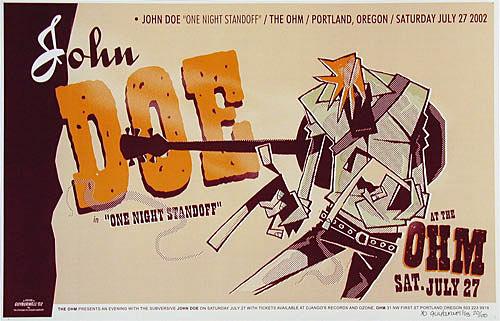Guy Burwell John Doe Poster