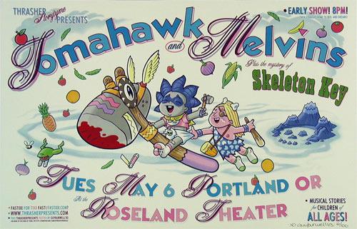 Guy Burwell Melvins Poster