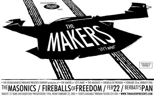 Guy Burwell The Makers Poster