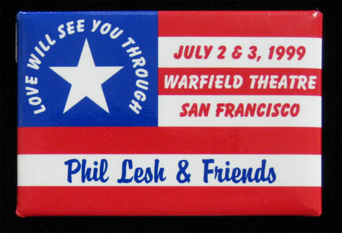 Phil Lesh and Friends Button Pin
