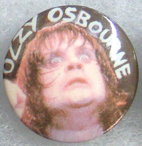 Ozzy Osbourne - Live Shot Button Pin