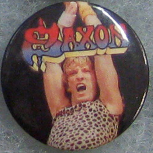 Saxon Button Pin