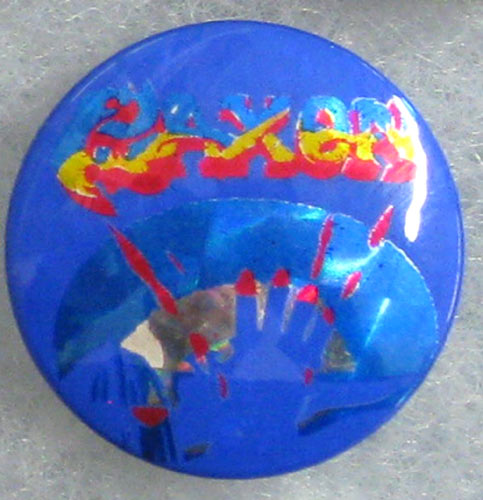 Saxon - Power and the Glory Button Pin