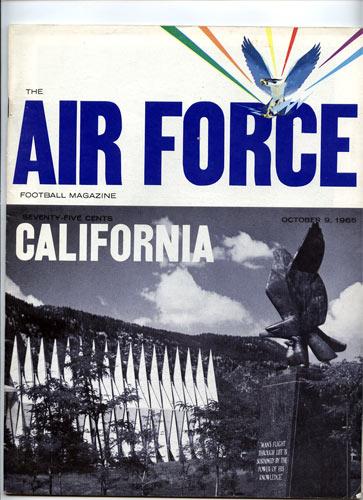 1965 Cal vs Air Force College Football Program