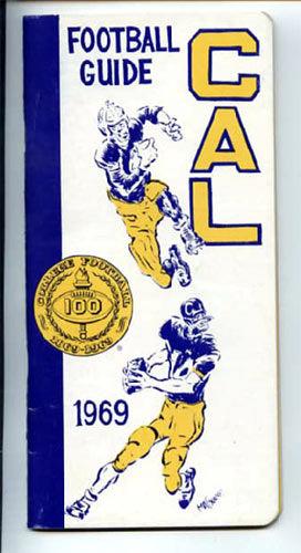 1969 Cal Bears Football Media Guide