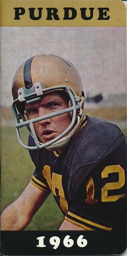 1966 Purdue Boilermakers Football Media Guide