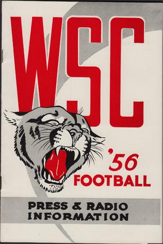 1956 Washington State College Football College Football Media Guide