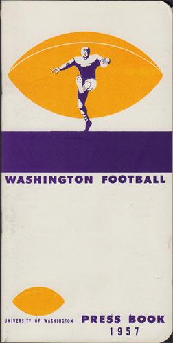1957 University of Washington Football College Football Media Guide