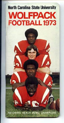 1973 North Carolina State University Football Media Guide
