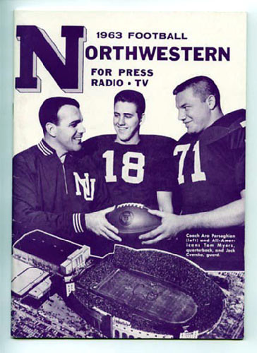 1963 Northwestern Football Media Guide