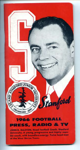 1966 Stanford Football Media Guide