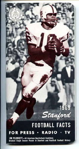 1969 Stanford Football Media Guide