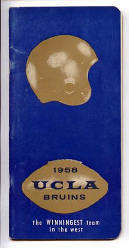 1958 UCLA  Football Media Guide