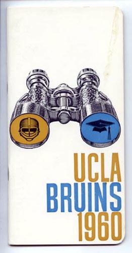 1960 UCLA Football Media Guide