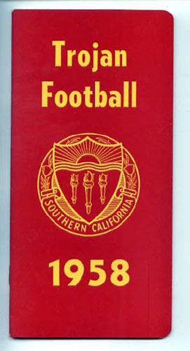 1958 USC Football Media Guide
