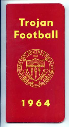 1964 USC Football Media Guide