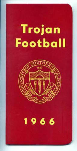 1966 USC Football Media Guide