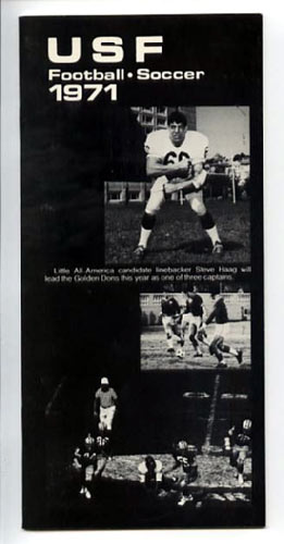 1971 USF Football Media Guide