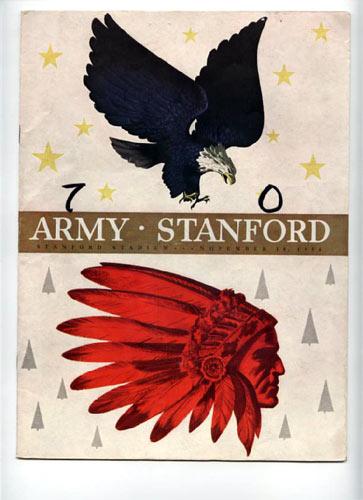 1950 Army vs Stanford College Football Program
