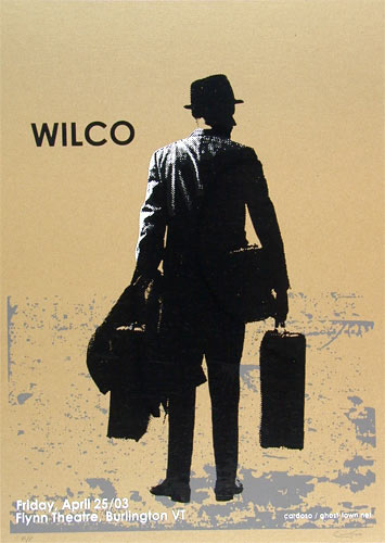 Pete Cardoso Wilco Poster