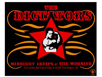 Pete Cardoso The Dictators Poster