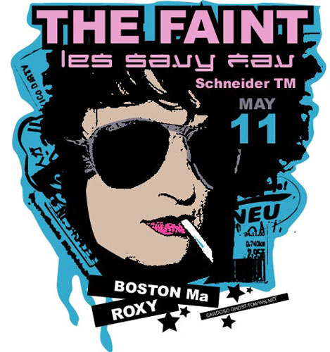 Pete Cardoso The Faint Poster