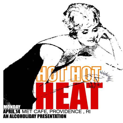 Pete Cardoso Hot Hot Heat Poster