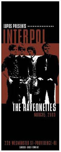 Pete Cardoso Interpol Poster