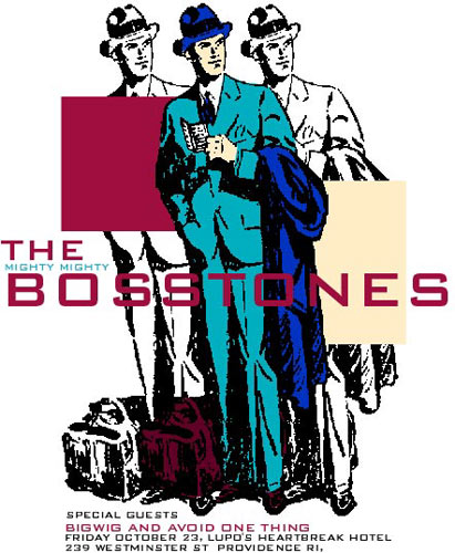 Pete Cardoso The Mighty Mighty Bosstones Poster