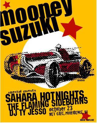 Pete Cardoso Mooney Suzuki Poster