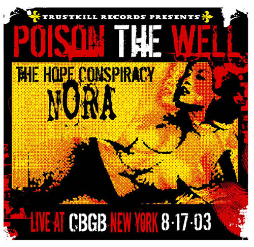 Pete Cardoso Poison The Well Poster