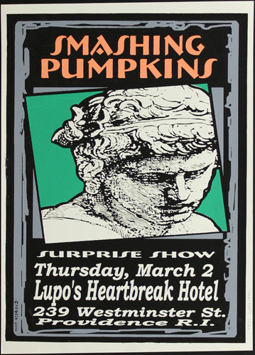 Pete Cardoso Smashing Pumpkins Poster