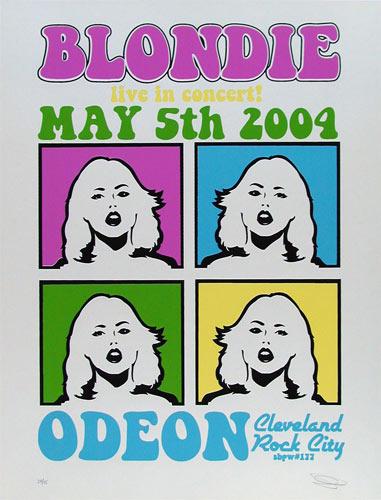 Sean Carroll Blondie Poster