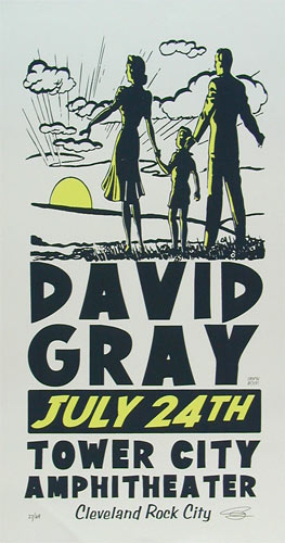 Sean Carroll David Gray Poster