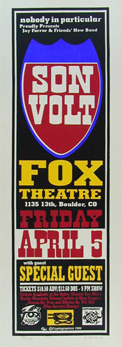 Jeff Holland Son Volt Poster